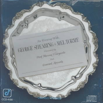 EVENING WITH GEORGE SHEARING & MEL TO BY SHEARING,G/TORME,M (CD)