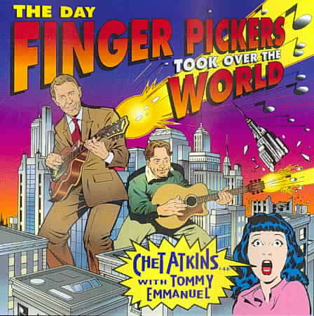 DAY FINGER PICKERS TOOK OVER THE WORL BY ATKINS,CHET (CD)